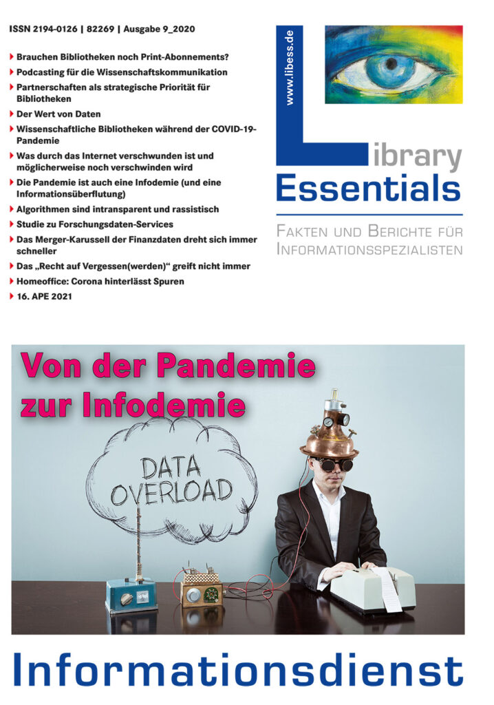 Cover Library Essentials Ausgabe 9/2020