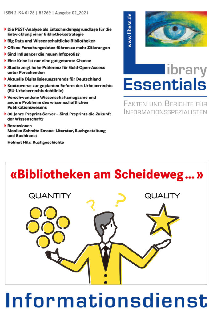 Cover Library Essentials Ausgabe 2/2021