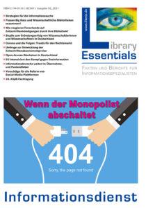 Library Essentials - Ausgabe 05/21